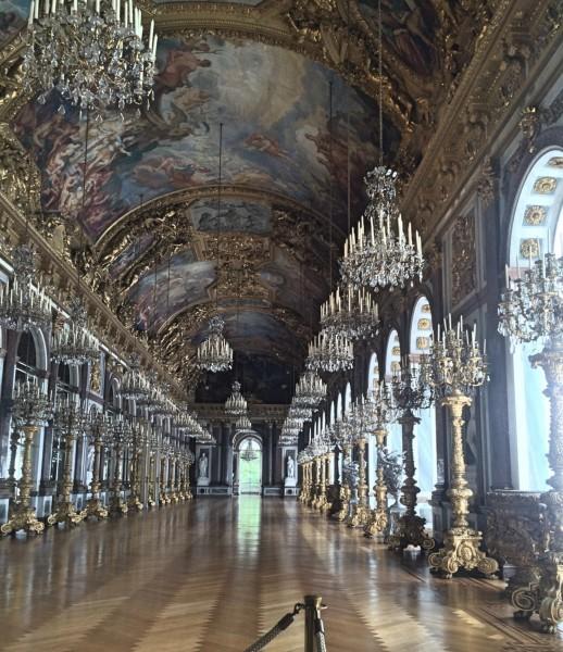 Herrenchiemsee - Hall of Mirrors. Foto Tomas Bagackas