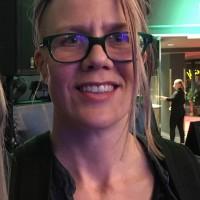 Kristin Bøyesen fotografert på ABBA premieren 12.Oktober. 2016. Privat foto.