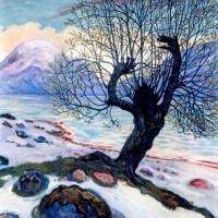 Marsmorgen av Nikolai Astrup.