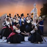 Ponte Molle, Ny August Bournnville ballett, sammensatt av Dinna Bjørn og Frank Andersen, som har premiere med Kungliga Balletten på Stockholmsoperaen i kveld. Foto: Kungliga Balletten