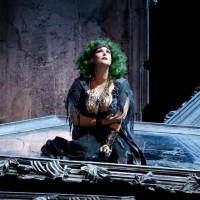 Jessica Pratt as Semiramidein OPera di Firenze.  Foto Simone Donati
