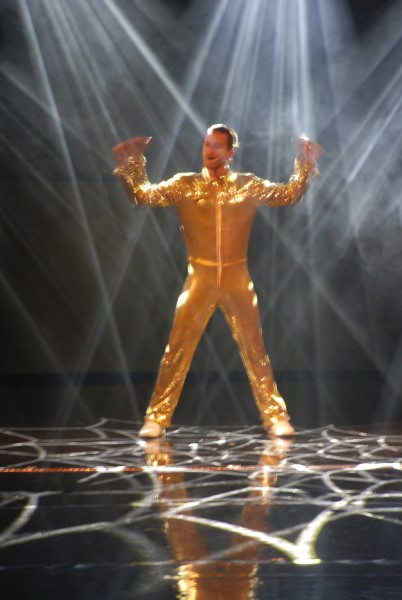 The Golden man. Foto Henning Høholt