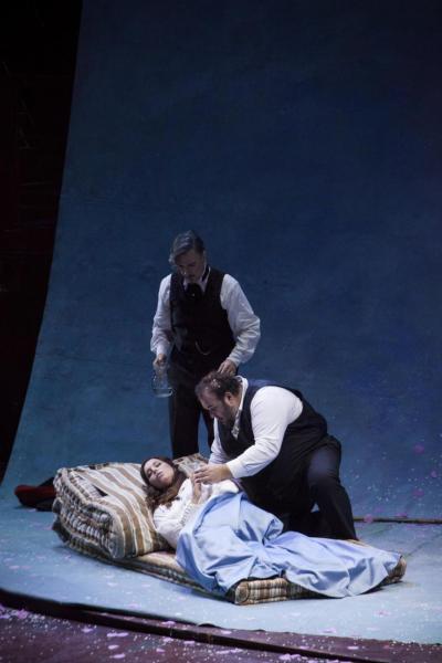 La Bohème, Nuncio, Sartori, Previati.  last act Foto Pietro  Paolini.