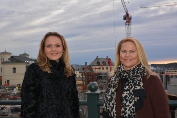 Hofstad Helleland og Bernander Silseth. FOTO: Wenche Nybø, KUD