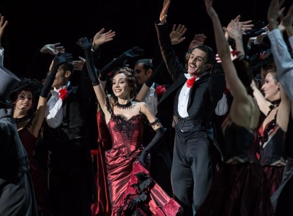 Ballet by Roland Petiti with Ballet de Roma: Chauve souris at Theatre des Champs Ulysses. Foto Yasuo Kageyama