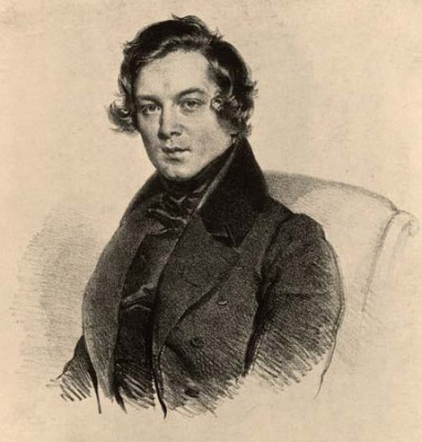 Robert Schumann, 1810-1856, composer of The Paradise and the Peri.