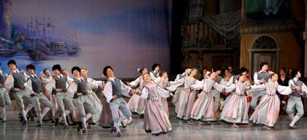 Ciurlionis Academy students dancing in Don Quixote in Vilnius, Foto Martians Aleksis.
