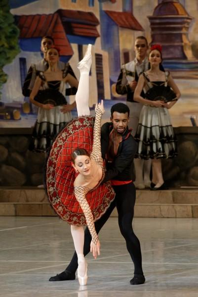 Osiel Gouneo and Nicoletta Manni. Foto Martynas Aleksas.