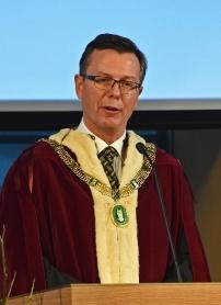 Universitetets rektor, Dag Rune Olsen, foto Sven Gj. Gjeruldsen, Det Kongelige Hoff