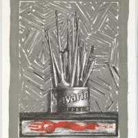 Jasper Johns SAVARIN, blir å se på en utstilling på Nasjonalmuseet fra 3. Mars.