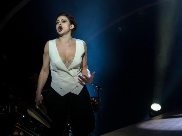 Hilde Louise Asbjørnsen i Cabaret. Foto Tine Poppe.