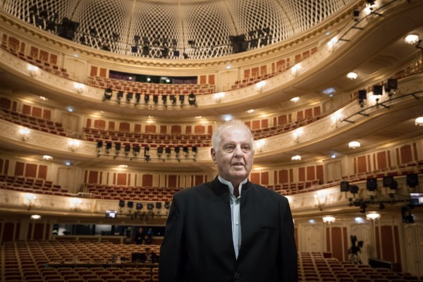 Daniel Barenboim is present during Die Festtage 2018 either as conductor or as pianist  . foto: Christian Mang