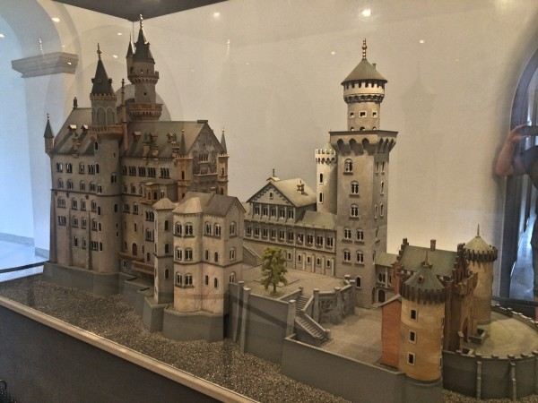 Model Neuschwanstein.