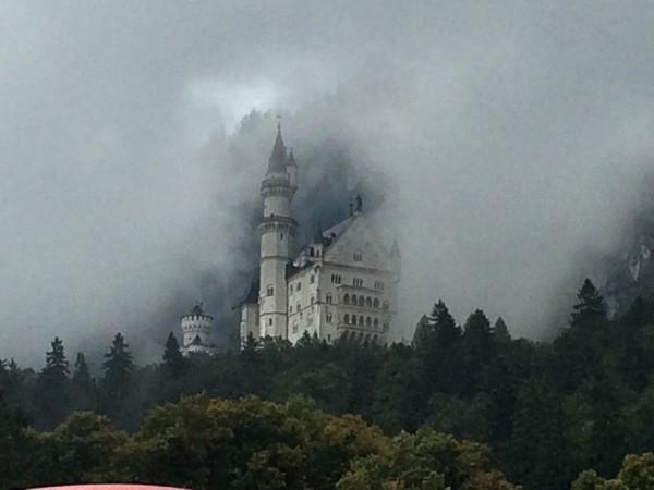 Neuschwanstein in a fairytale fog.