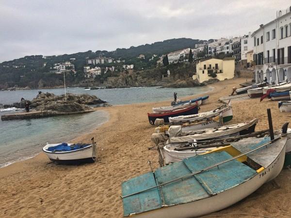 Plana d Canadell, beach, houses ,harbor