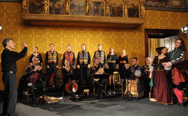 Ensemble Villancico har innviet det skandinaviske publikummet i en ny genre: den Latin -Amerikanske renessanse- og barokkmusikken.  Dette presenteresi Tønsberg Domkirke. Foto Mario MIntoff.
