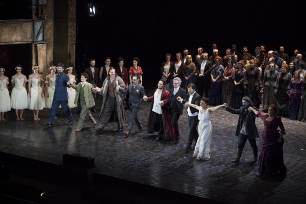 Faust Curtain call.