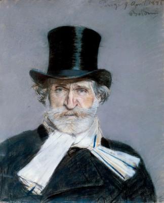 Giuseppe Verdi by Giovanni Boldini.
