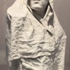 Torso of the Angel Age, drapé app 1895-96. Made in plaster, and with plaster coated fabric  But a link to the following coat for Balzac.