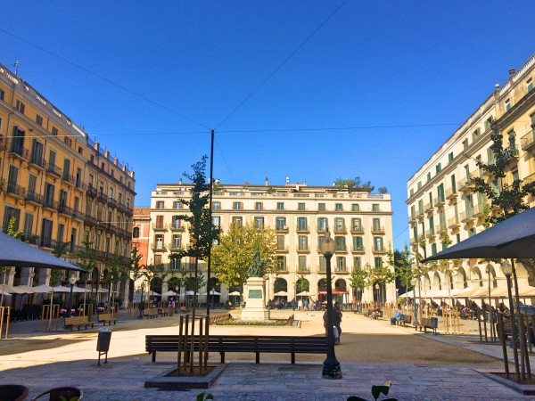 Independence Square, Gerona.