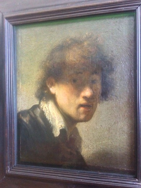 Rembrandt: Self-portrait 23 years old. 1629