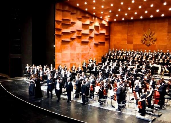 Verdi´s Requiem, curtain call, foto: Silvia Venturi