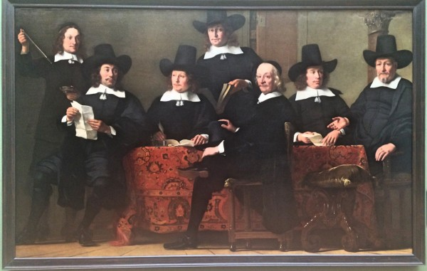 Rembrandt: Governors of the Wine Merchants Guild in Amsterdam. Al photos by Henning Høholt