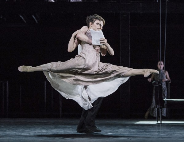 Camilla Spidsøe and Andreas Heise in a beautiful lift.