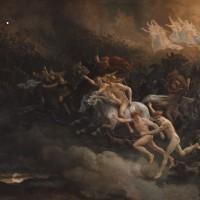 """Peter Nicolai Arbo (1831-1892) """"Aasgaardsreien"""", 1868"""