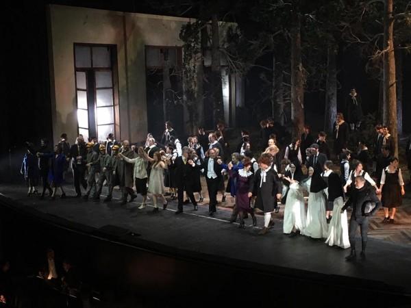 Curtain call - The Magic flute in Firenze.