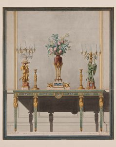 Small altar, gilt bronze by bronze Pierre Gouthière, circa 1770 Ivory, white marble, gilded bronze Private collection © DR