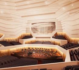 Concert Hall © gmp – Architekten von Gerkan, Marg und Partner
