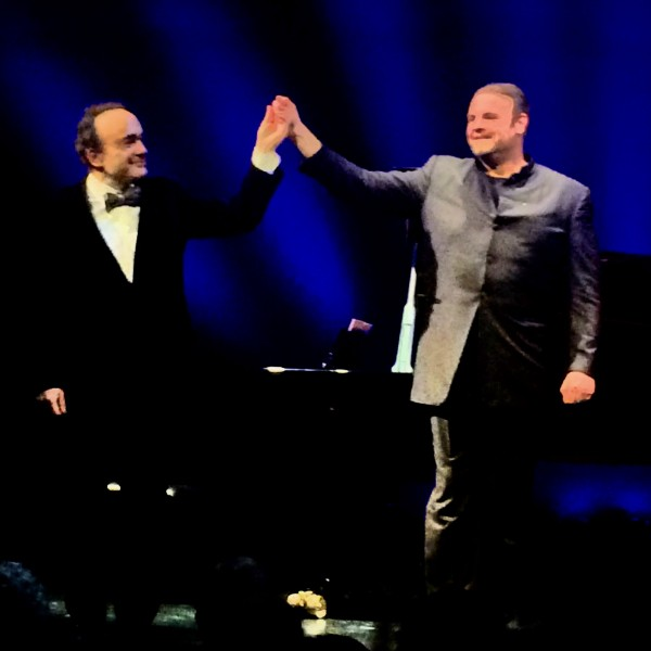 Joseph Calleja and Frédéric Chasun, Photo Romuald Sip.