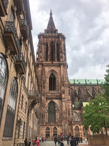 Cathedral tower, Strasbourg.