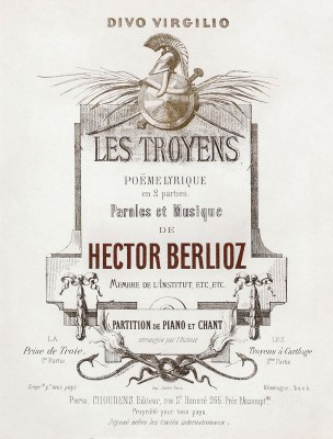 Cover of the Choudens et Cie score
