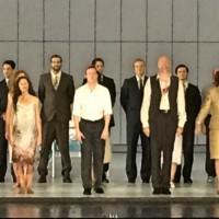 Applaus for Pelleas og Melisande premieren i Oslo. Foto: Henning Høholt