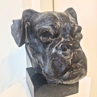 Portretteringskunst i bronsje og 3D format - Elena Engelsen.