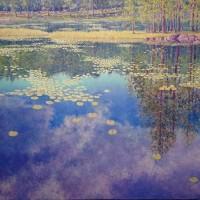 Tore Hogstvedt er blitt kaldt Nordens Monet. Han utstiller på Interiør-Galleriet på Briskeby fra 26. April og ut mai måned.