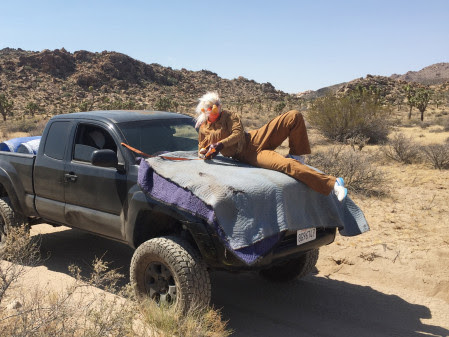 "From the video with Tori Wrånes ""Desert Troll-technique"" in The National Park Joshua Tree, USA, June 2016. Photo: Skylar Haskard."