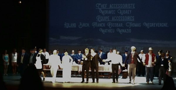 Standing ovation by the young people of Monaco while credits are running on the screen. Photo: Torkil Baden