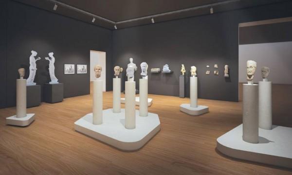 Måt de romerkse keiserna ansikt til ansikt på det nye Nasjonalmuseet. - Tilbake til fortiden.