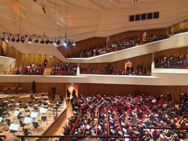 A View of the one side of the new concert hall. Foto Tomas Bagackas.
