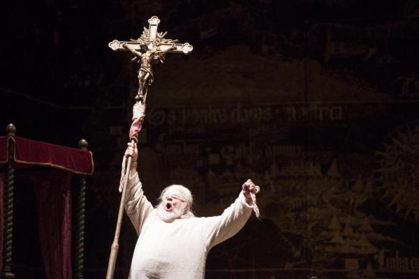 Halfvarson as Il Grande Inquisitore.