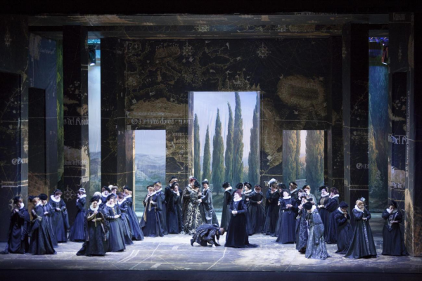 Ensemble - Don Carlos by Giuseppe Verdi in Firenze.