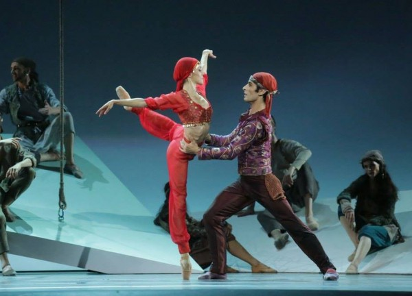 La Corsaire at Theatre des Champs Elysees, Paris.