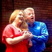 Birgitte Christensen og Ole Jørgen Kristiansen  engasjerte i duetten mellom brura Zerlina og forføreren Don Giovanni.