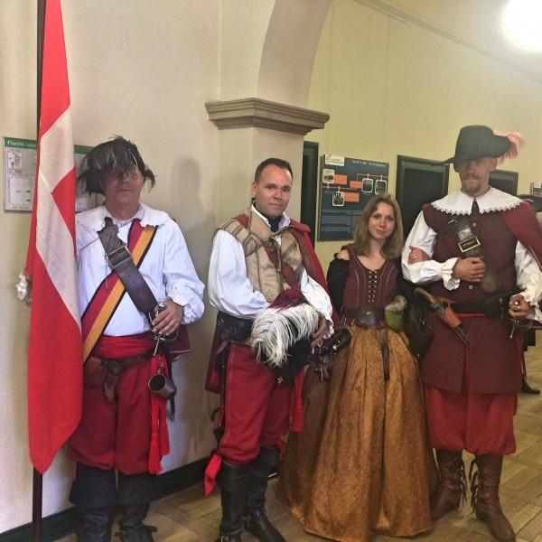 Danish delegation from Haderslev - Wittenberg