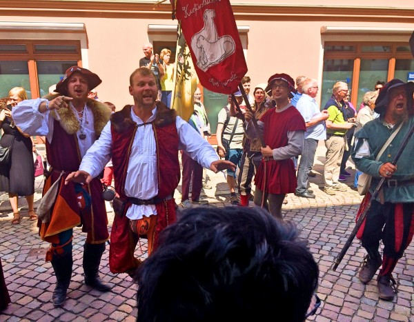 Funny Gues in Wittenberg Parade.