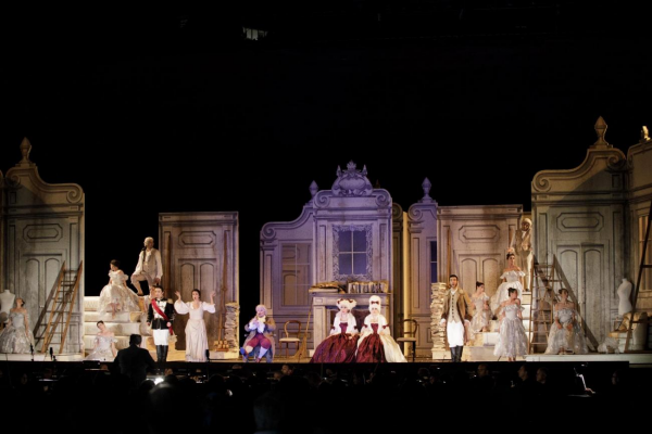 La Cenerentola in Firenze, ensemble.