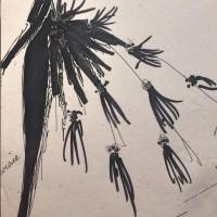 Black scetch by Erik Mortensen